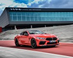 2020 BMW M8 Competition Coupe (Color: Fire Red) Front Three-Quarter Wallpapers 150x120 (36)