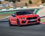 2020 BMW M8 Competition Coupe (Color: Fire Red) Front Three-Quarter Wallpapers 150x120 (7)