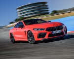 2020 BMW M8 Competition Coupe (Color: Fire Red) Front Three-Quarter Wallpapers 150x120 (13)