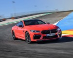 2020 BMW M8 Competition Coupe (Color: Fire Red) Front Three-Quarter Wallpapers 150x120 (9)