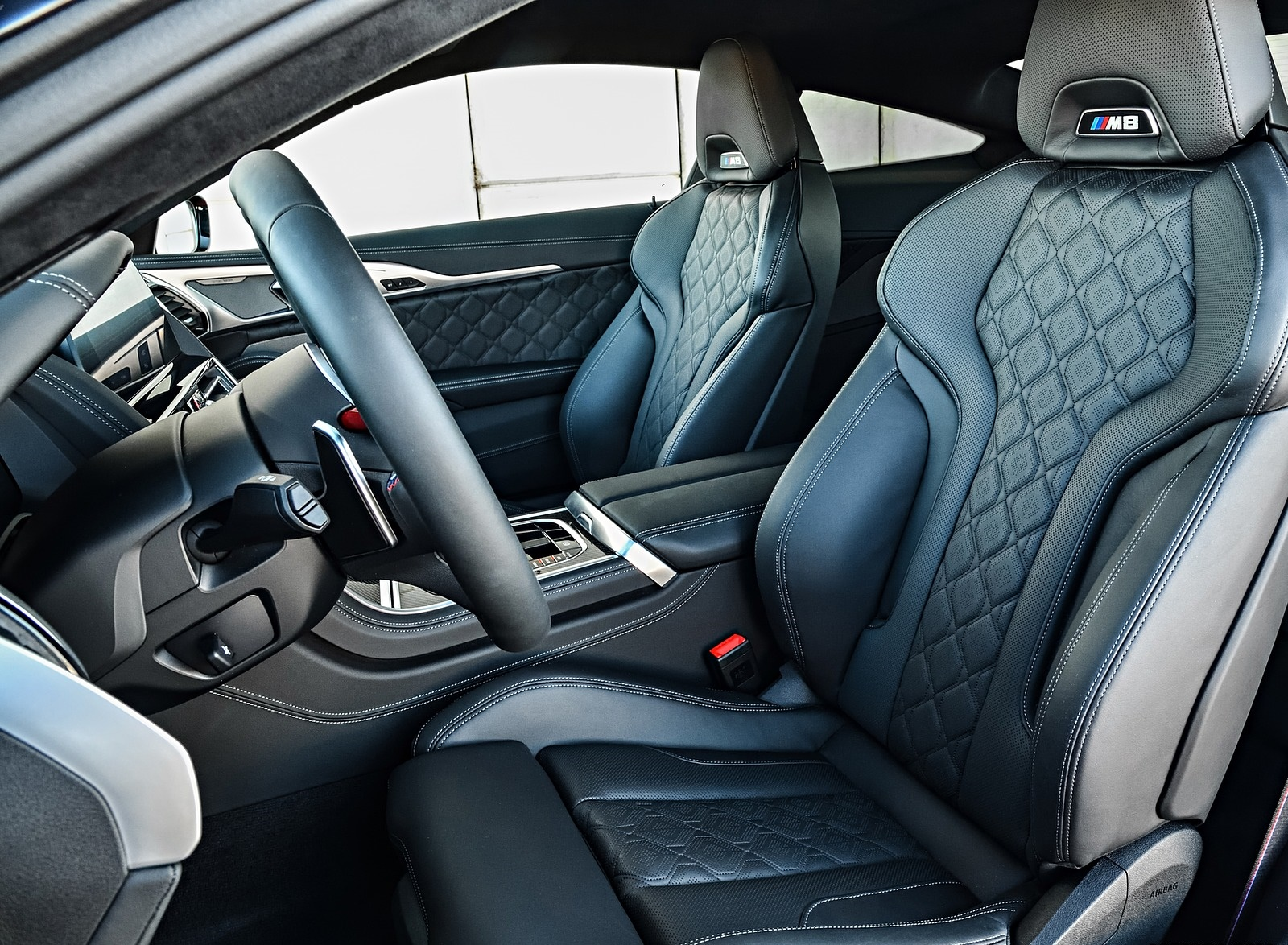 2020 Bmw M8 Competition Coupe Color Fire Red Interior Front Seats Wallpapers 104 Newcarcars