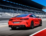 2020 BMW M8 Competition Coupe (Color: Fire Red) Rear Three-Quarter Wallpapers 150x120 (41)