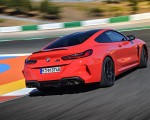 2020 BMW M8 Competition Coupe (Color: Fire Red) Rear Three-Quarter Wallpapers 150x120 (14)