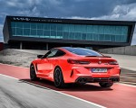 2020 BMW M8 Competition Coupe (Color: Fire Red) Rear Three-Quarter Wallpapers 150x120 (43)