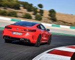 2020 BMW M8 Competition Coupe (Color: Fire Red) Rear Three-Quarter Wallpapers 150x120 (17)