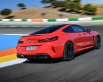 2020 BMW M8 Competition Coupe (Color: Fire Red) Rear Three-Quarter Wallpapers 150x120 (19)