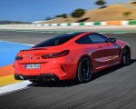 2020 BMW M8 Competition Coupe (Color: Fire Red) Rear Three-Quarter Wallpapers 150x120 (20)