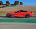 2020 BMW M8 Competition Coupe (Color: Fire Red) Side Wallpapers 150x120 (31)