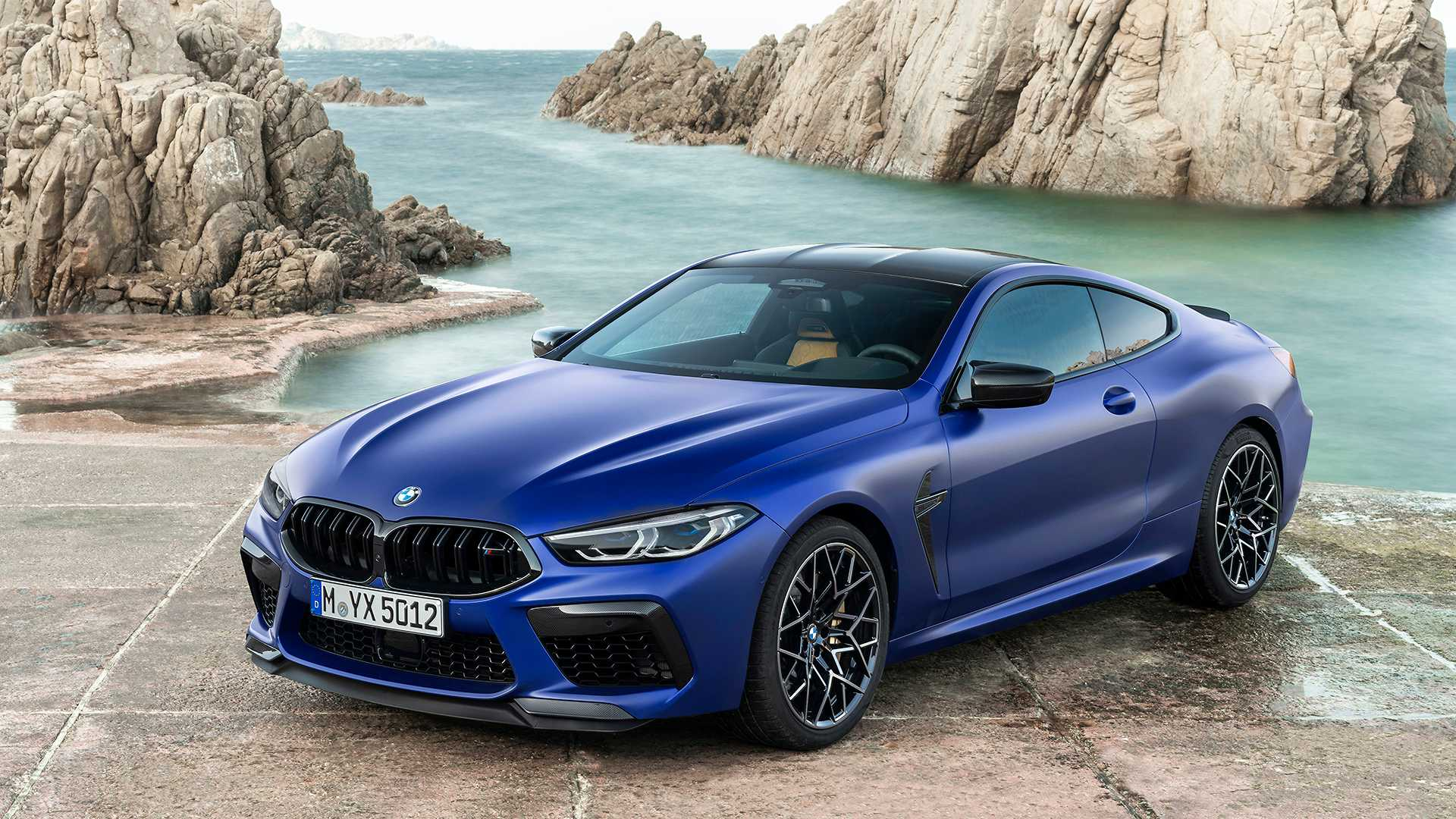 2020 BMW M8 Competition Coupe Front Three-Quarter Wallpapers (11)
