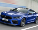 2020 BMW M8 Competition Coupe Front Three-Quarter Wallpapers 150x120 (2)
