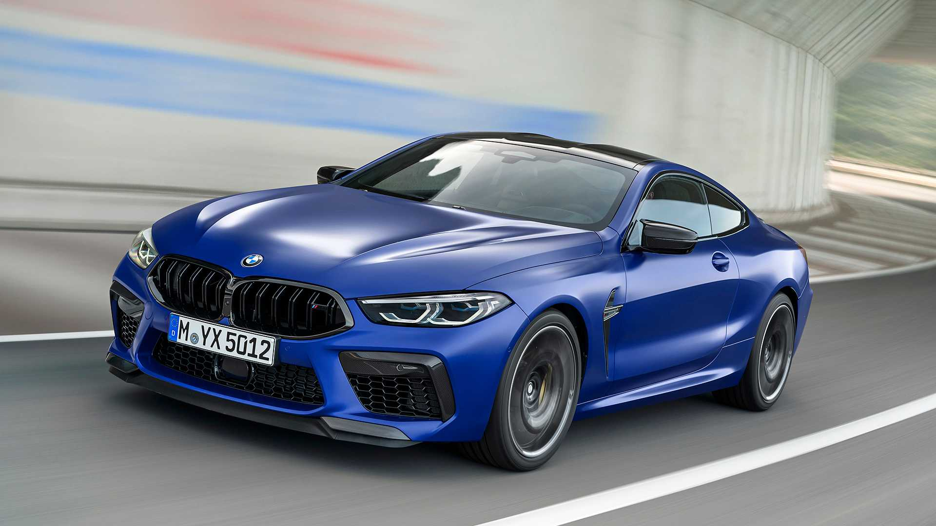2020 BMW M8 Competition Coupe Front Three-Quarter Wallpapers (2)