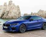 2020 BMW M8 Competition Coupe Front Three-Quarter Wallpapers 150x120 (12)