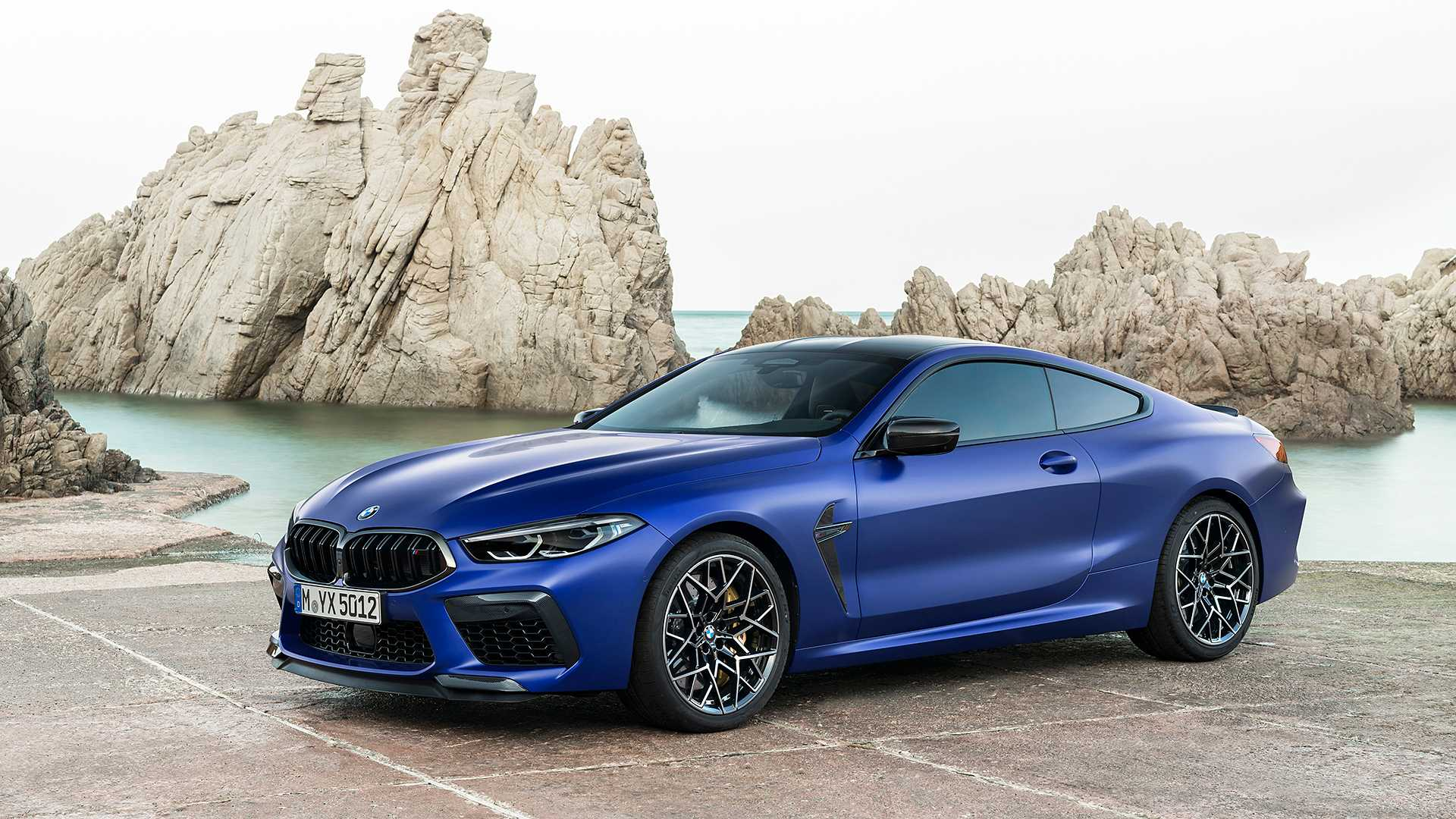 2020 BMW M8 Competition Coupe Front Three-Quarter Wallpapers (12)