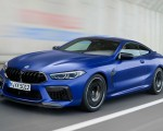 2020 BMW M8 Competition Coupe Front Three-Quarter Wallpapers 150x120 (3)