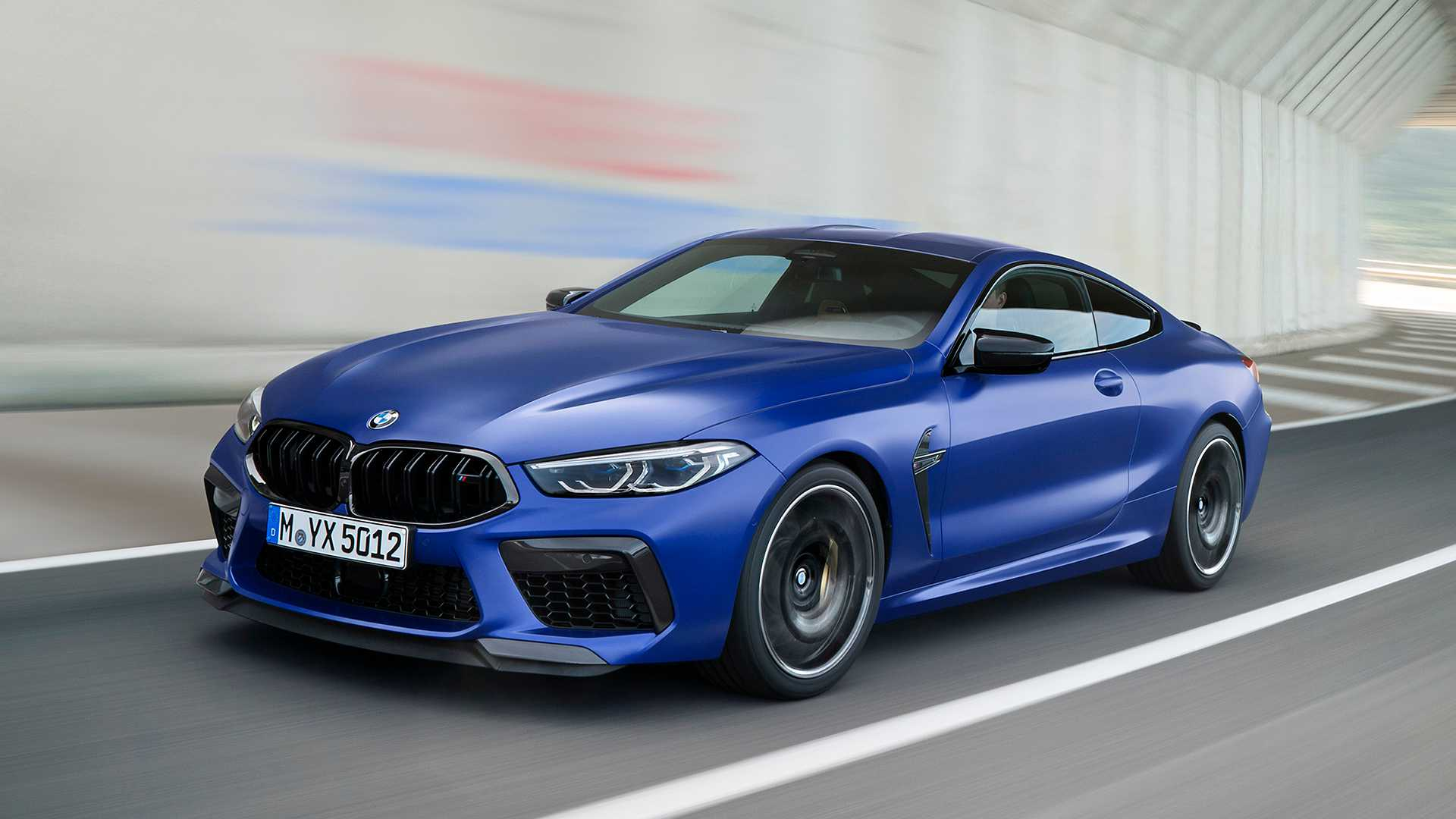 2020 BMW M8 Competition Coupe Front Three-Quarter Wallpapers (3)