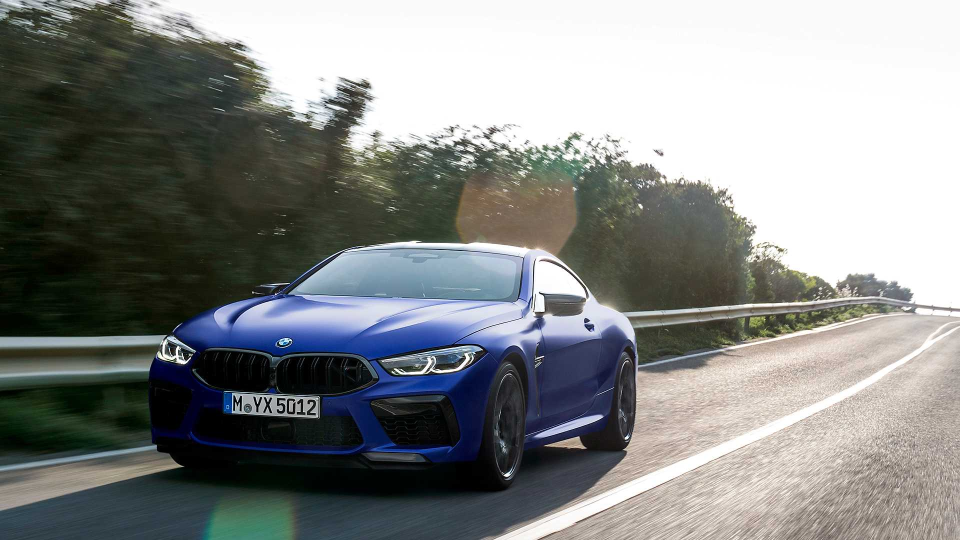 2020 BMW M8 Competition Coupe Front Three-Quarter Wallpapers (4)