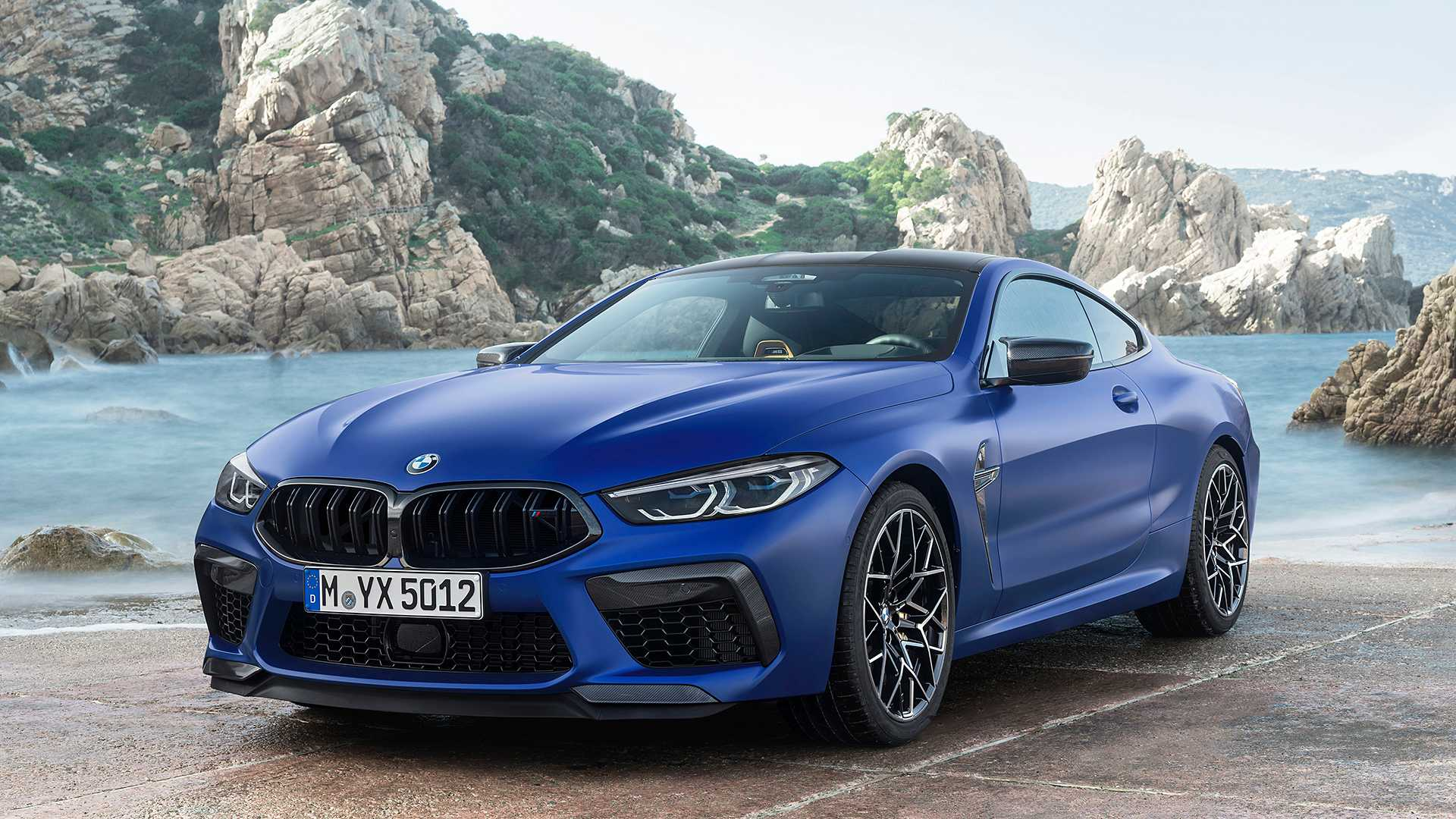 2020 BMW M8 Competition Coupe Front Three-Quarter Wallpapers (13)