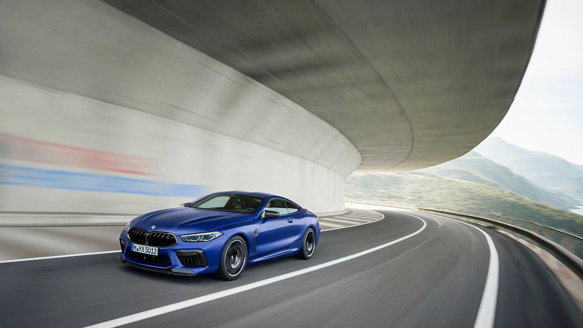 2020 BMW M8 Competition Coupe Front Three-Quarter Wallpapers (5)