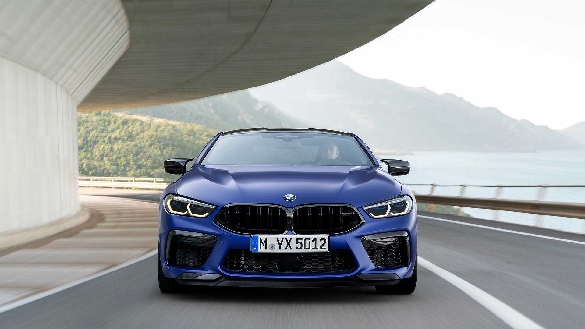 2020 BMW M8 Competition Coupe Front Wallpapers (6)