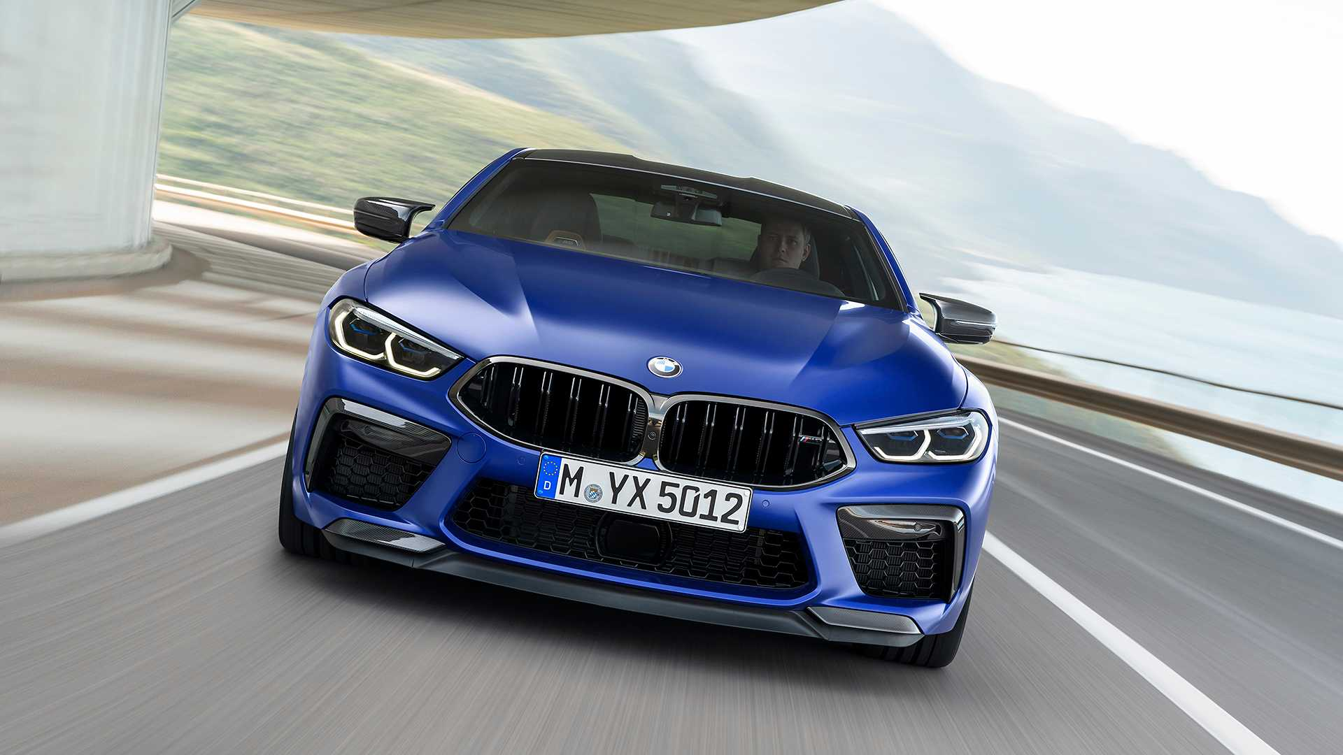 2020 BMW M8 Competition Coupe Front Wallpapers (1)