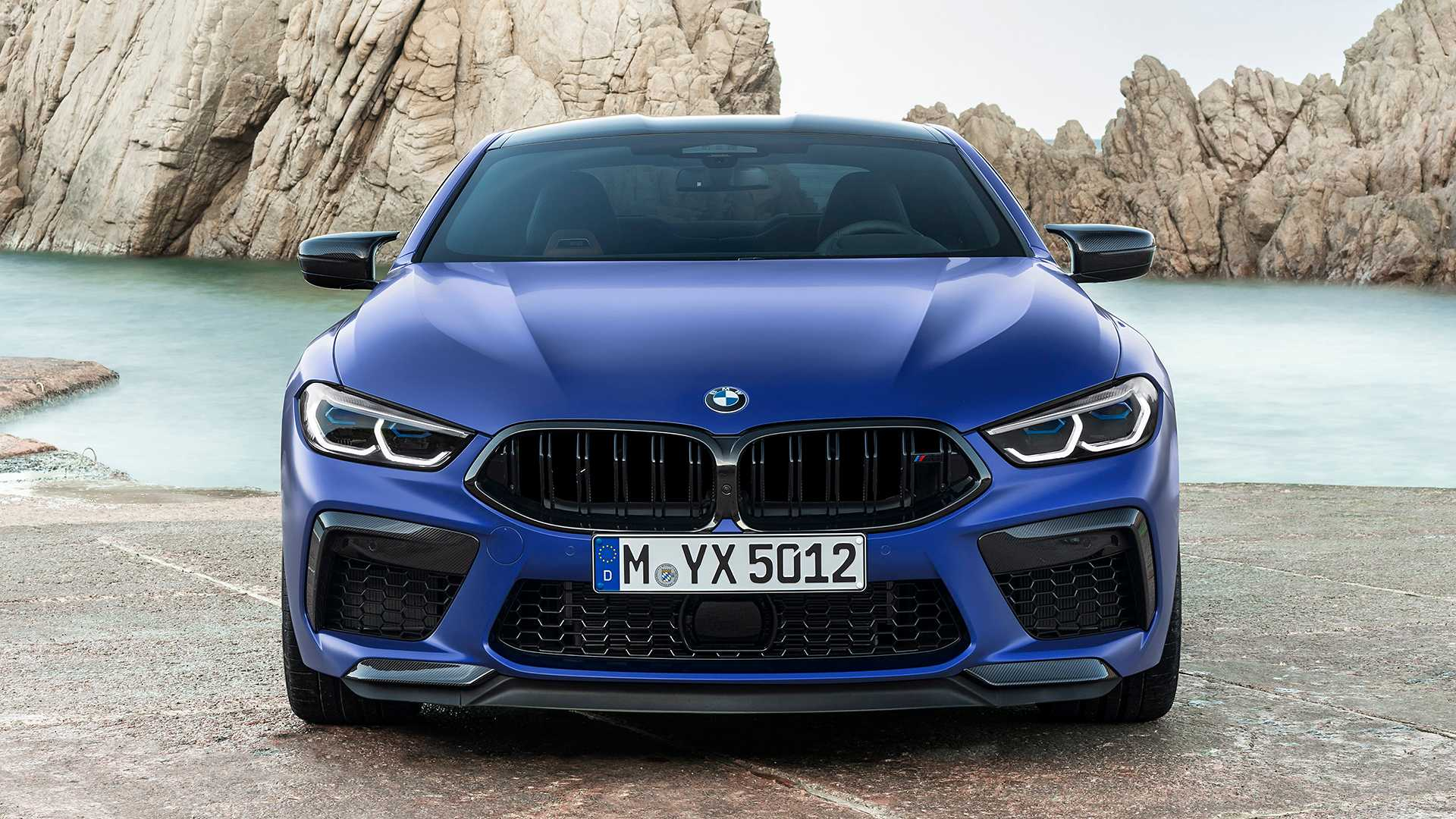 2020 BMW M8 Competition Coupe Front Wallpapers (14)