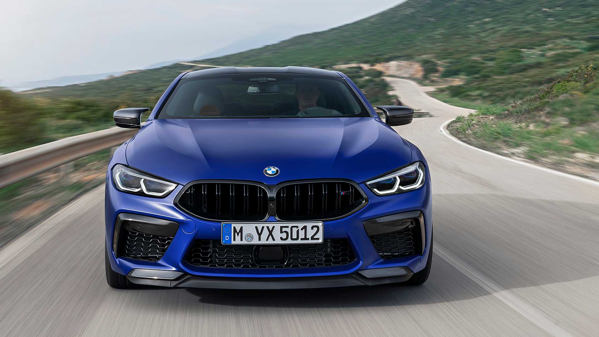 2020 BMW M8 Competition Coupe Front Wallpapers (7)