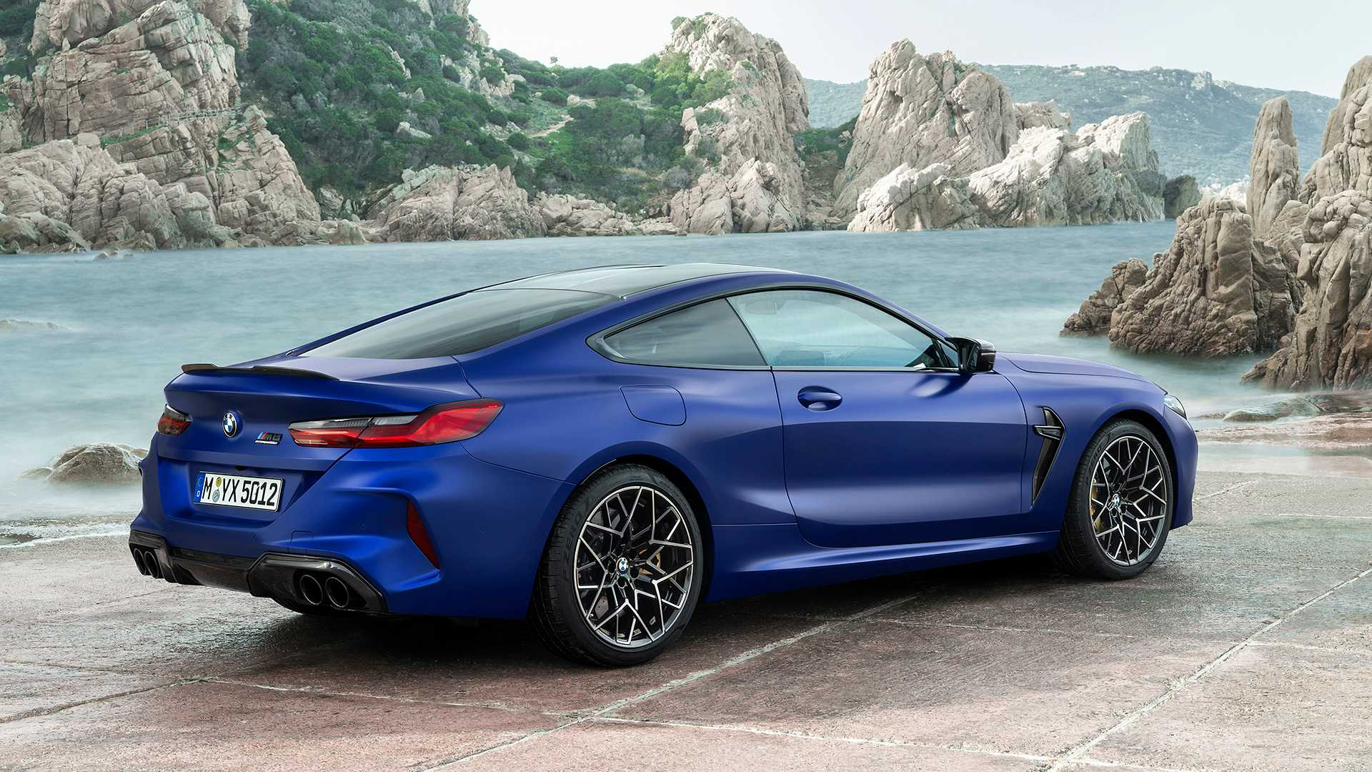 2020 BMW M8 Competition Coupe Rear Three-Quarter Wallpapers (15)