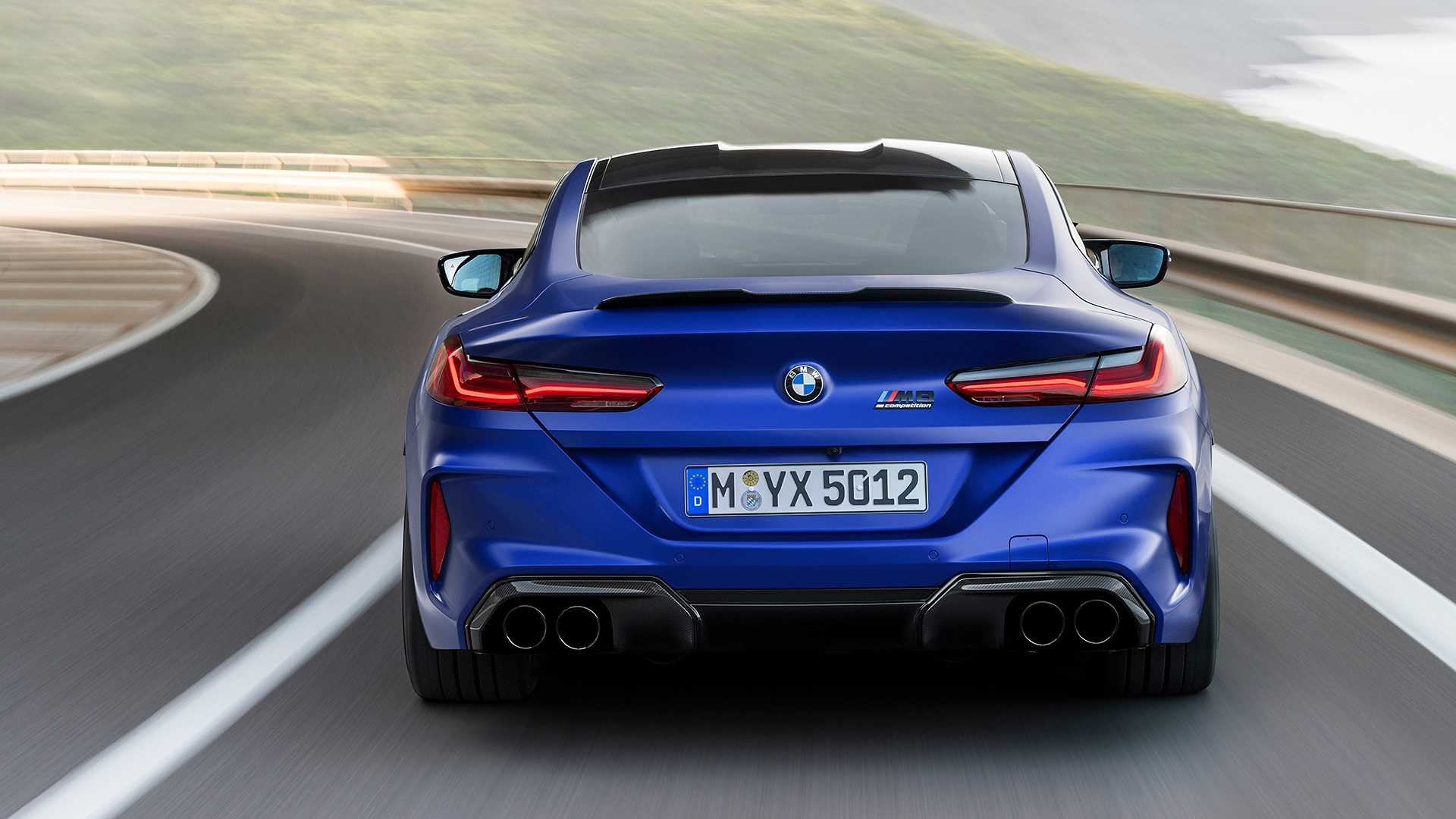 2020 BMW M8 Competition Coupe Rear Wallpapers (9)