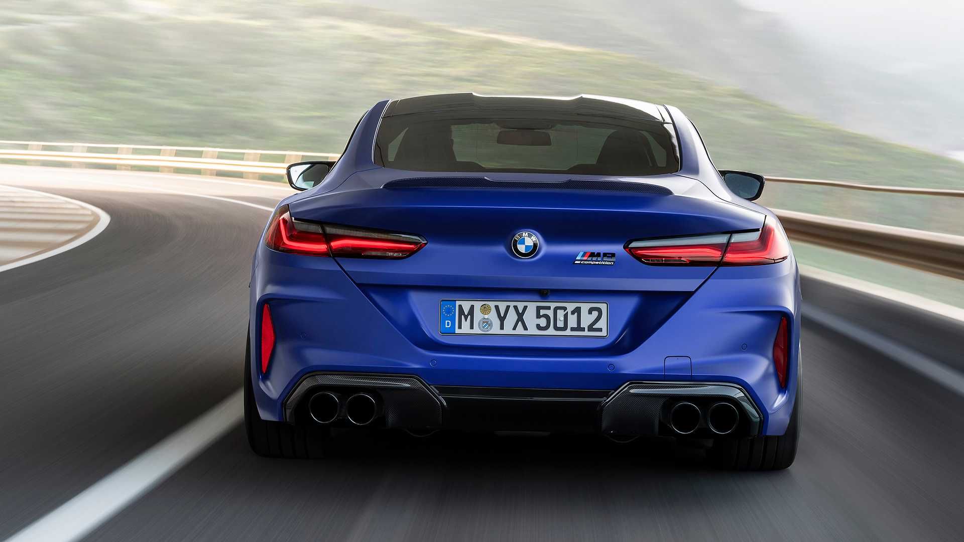 2020 BMW M8 Competition Coupe Rear Wallpapers (10)