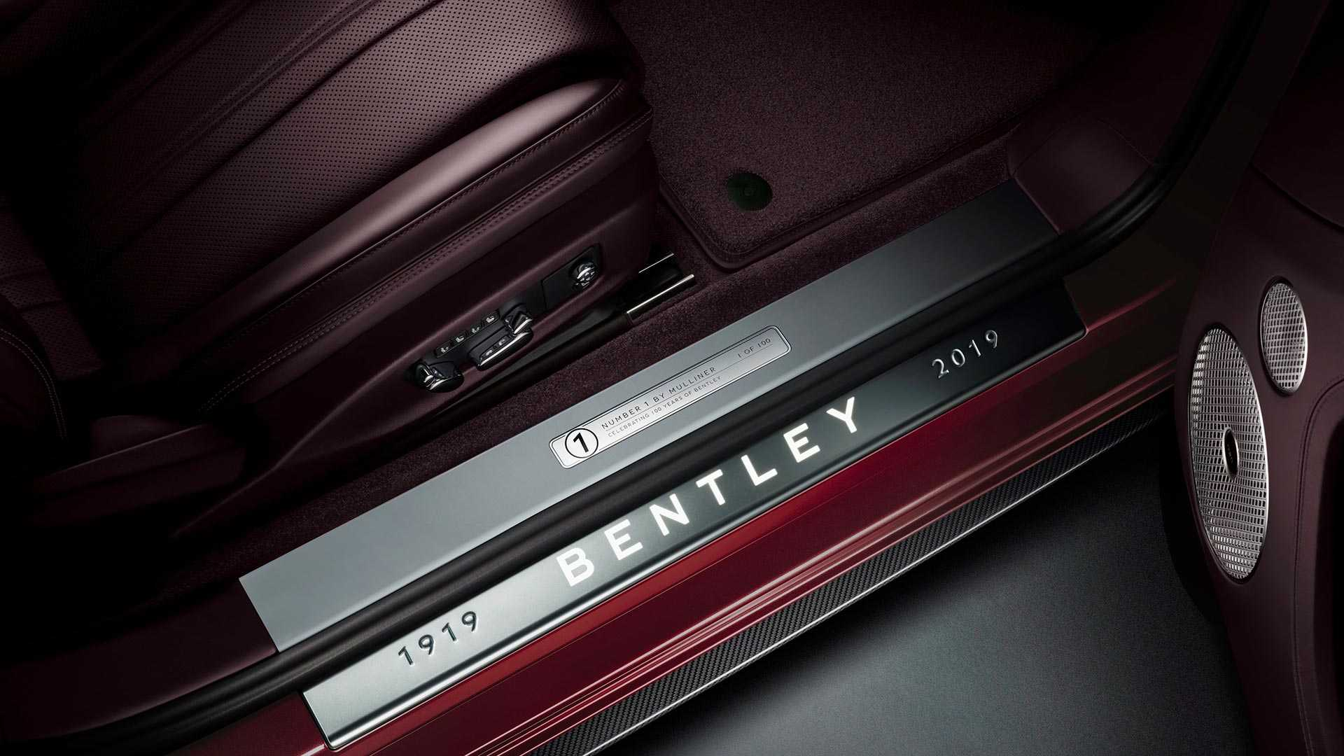 2020 Bentley Continental GT Convertible Number 1 Edition by Mulliner Door Sill Wallpapers (8)