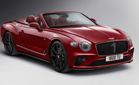 2020 Bentley Continental GT Convertible Number 1 Edition by Mulliner Front Three-Quarter Wallpapers 450x275 (2)