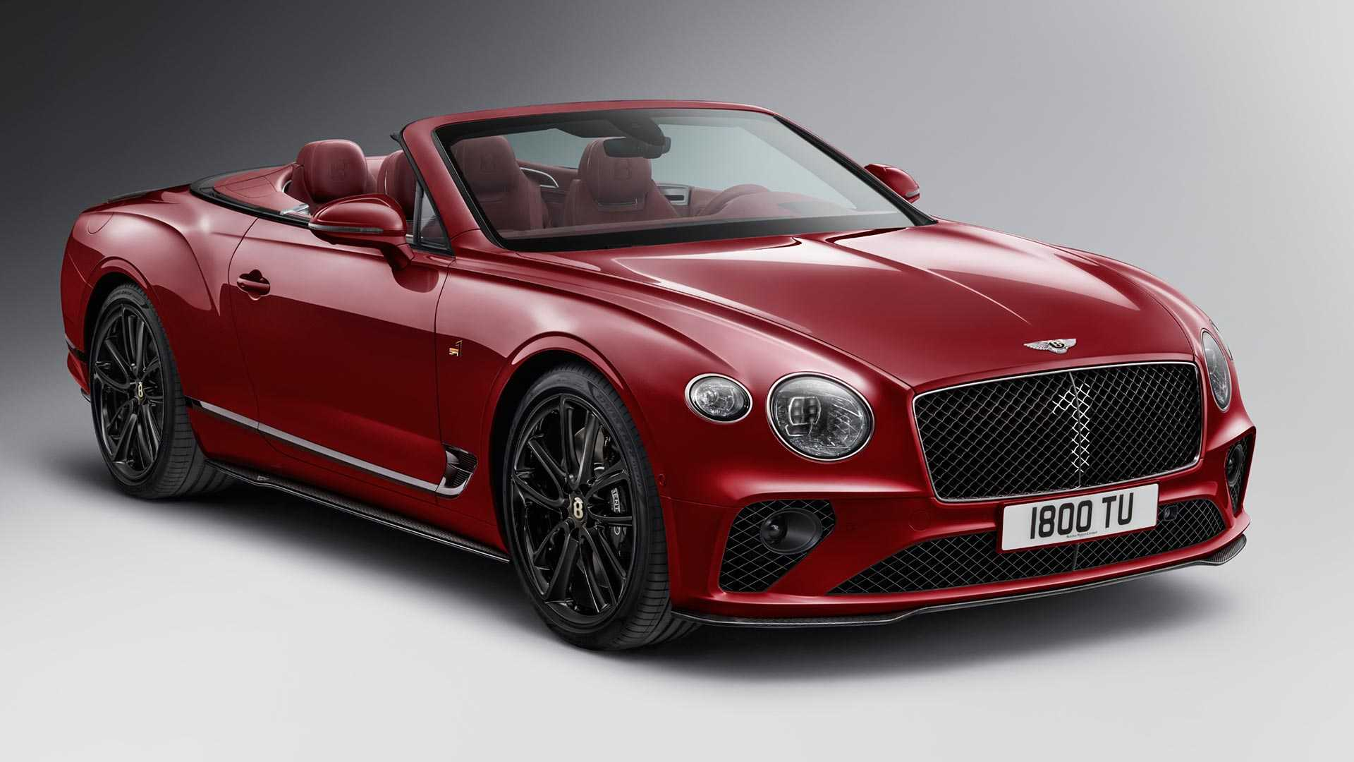 2020 Bentley Continental GT Convertible Number 1 Edition by Mulliner Front Three-Quarter Wallpapers (2)