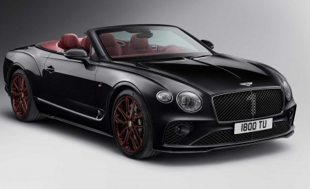 2020 Bentley Continental GT Convertible Number 1 Edition by Mulliner Front Three-Quarter Wallpapers 450x275 (5)