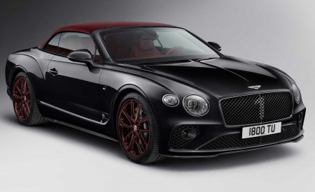 2020 Bentley Continental GT Convertible Number 1 Edition by Mulliner Front Three-Quarter Wallpapers 450x275 (6)