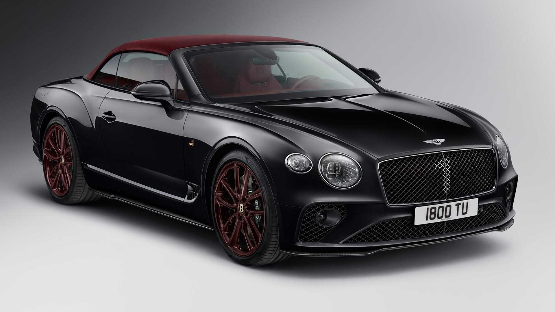 2020 Bentley Continental GT Convertible Number 1 Edition by Mulliner Front Three-Quarter Wallpapers (6)