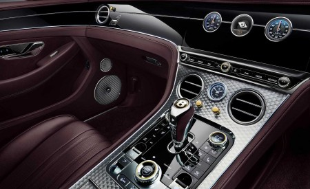 2020 Bentley Continental GT Convertible Number 1 Edition by Mulliner Interior Detail Wallpapers 450x275 (9)