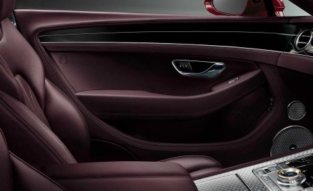 2020 Bentley Continental GT Convertible Number 1 Edition by Mulliner Interior Wallpapers 450x275 (10)