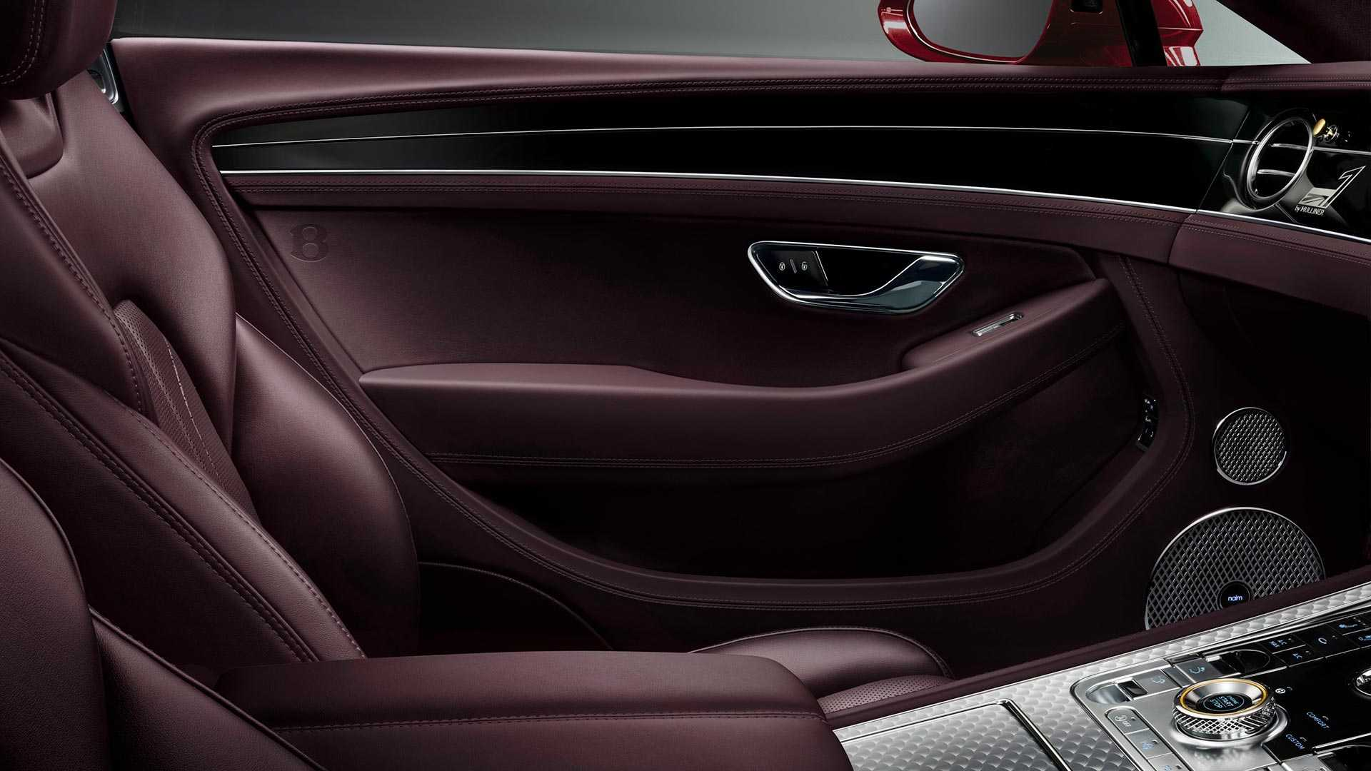 2020 Bentley Continental GT Convertible Number 1 Edition by Mulliner Interior Wallpapers (10)