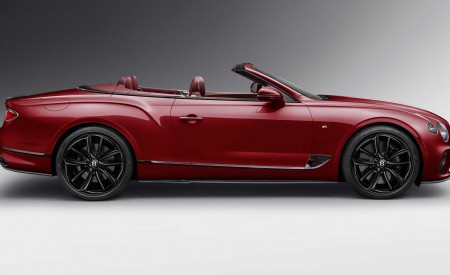 2020 Bentley Continental GT Convertible Number 1 Edition by Mulliner Side Wallpapers 450x275 (3)