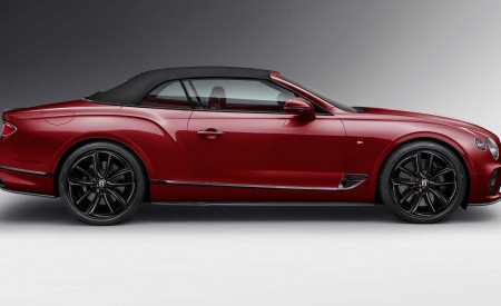 2020 Bentley Continental GT Convertible Number 1 Edition by Mulliner Side Wallpapers 450x275 (4)