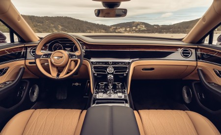 2020 Bentley Flying Spur (Color: Cricket Ball) Interior Cockpit Wallpapers 450x275 (125)