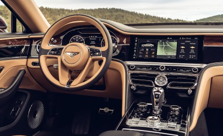 2020 Bentley Flying Spur (Color: Cricket Ball) Interior Wallpapers 450x275 (124)