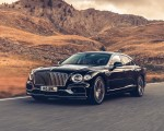 2020 Bentley Flying Spur (Color: Dark Sapphire) Front Three-Quarter Wallpapers 150x120 (5)