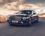 2020 Bentley Flying Spur (Color: Dark Sapphire) Front Three-Quarter Wallpapers 150x120 (1)