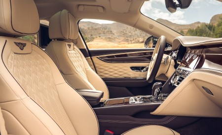 2020 Bentley Flying Spur (Color: Dark Sapphire) Interior Front Seats Wallpapers 450x275 (23)