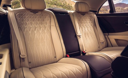 2020 Bentley Flying Spur (Color: Dark Sapphire) Interior Rear Seats Wallpapers 450x275 (24)