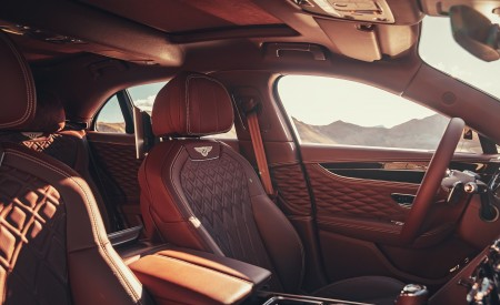 2020 Bentley Flying Spur (Color: Extreme Silver) Interior Front Seats Wallpapers 450x275 (79)
