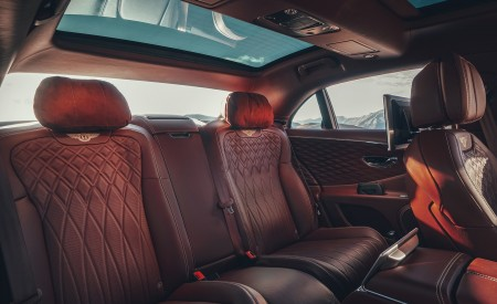 2020 Bentley Flying Spur (Color: Extreme Silver) Interior Rear Seats Wallpapers 450x275 (80)