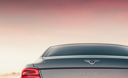 2020 Bentley Flying Spur (Color: Extreme Silver) Tail Light Wallpapers 450x275 (69)