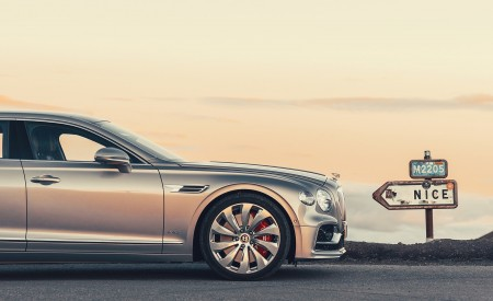 2020 Bentley Flying Spur (Color: Extreme Silver) Wheel Wallpapers 450x275 (70)